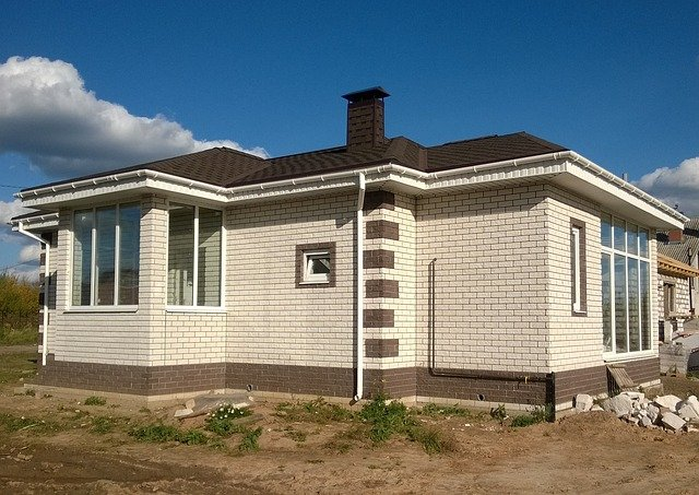 dům z cihel