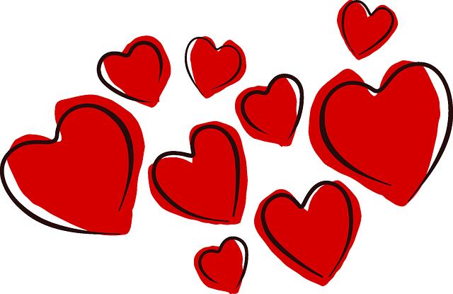 devět srdcí