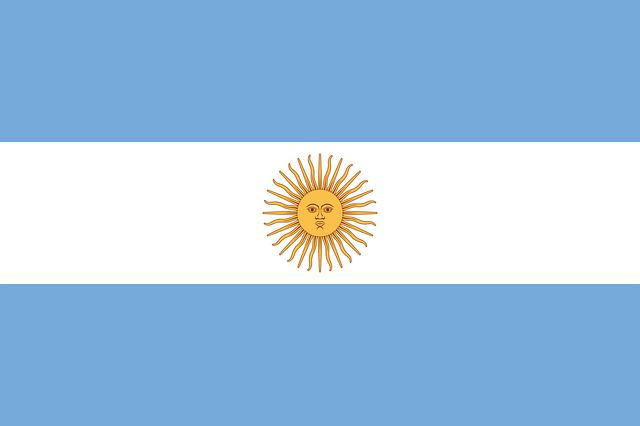 argentina vlajka
