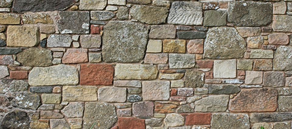 zídka z kamenů